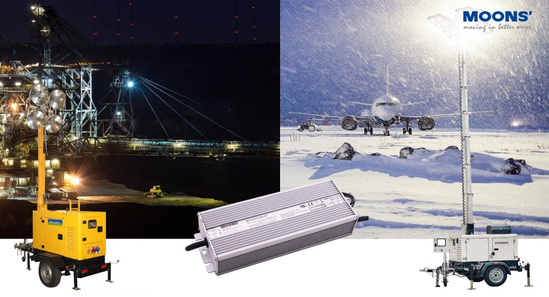 Lighting Tower wth LED driver