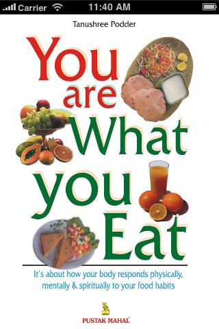 you are what you eat You are what you eat.是什么意思?