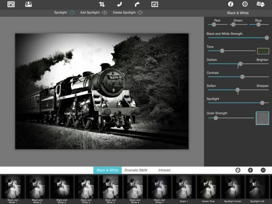 Dramatic Black & White HD Screenshot