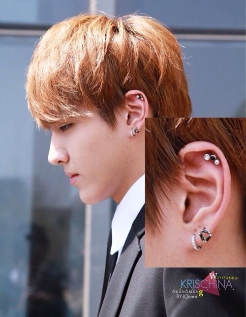 Kpop Ear Piercings : piercings, Piercing, K-Pop, Amino