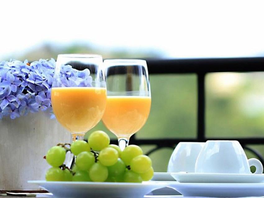 Café da Manhã Pousada Lá-Bas
