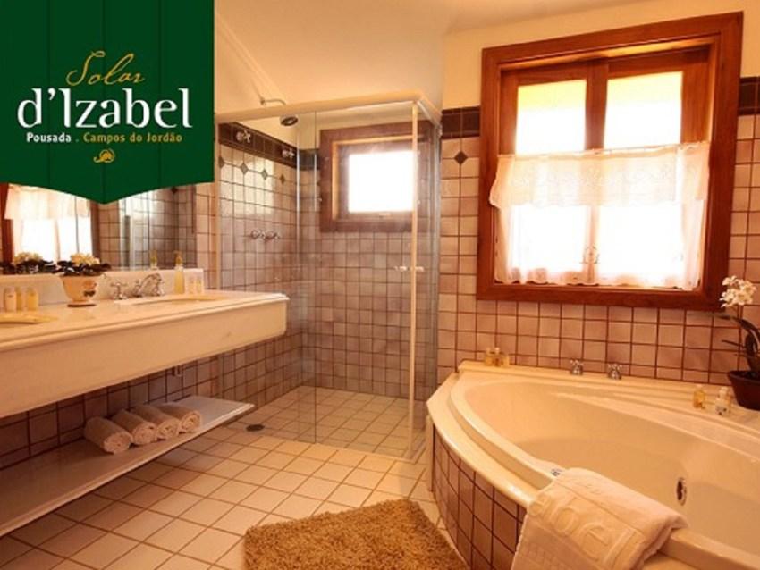 Banheiro Pousada Solar D'Izabel