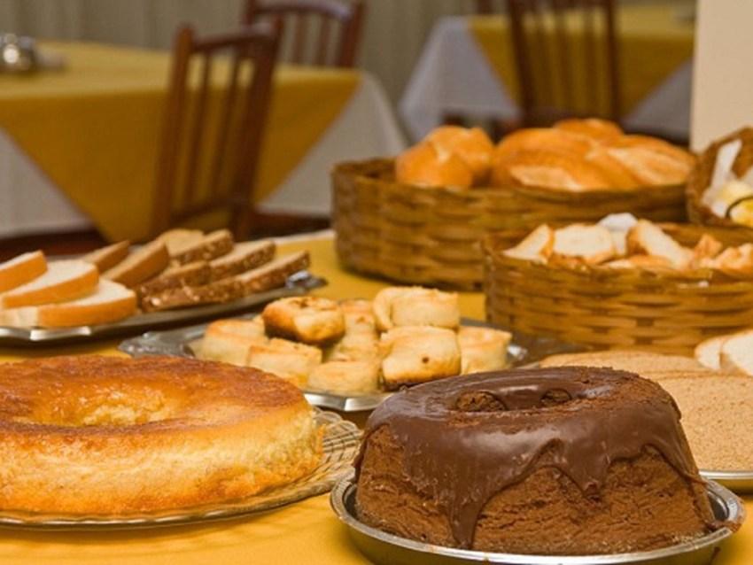 Café da Manhã Pousada Villa de Campos