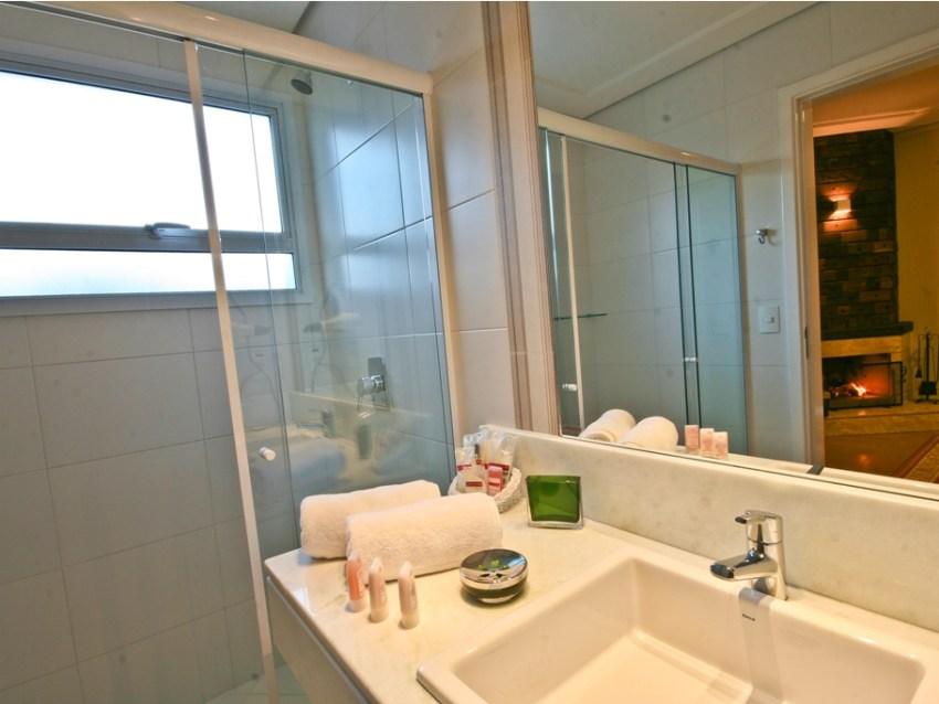 Banheiro Pousada Annecy