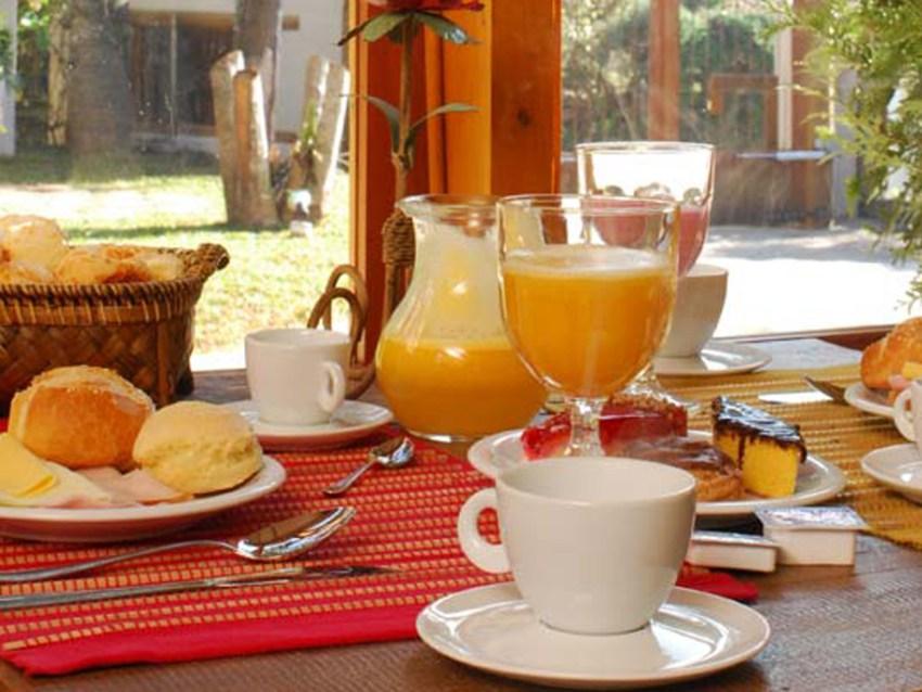 Café da manhã Pousada da Pedra