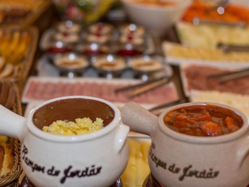 Café da Manhã Pousada La Toscana