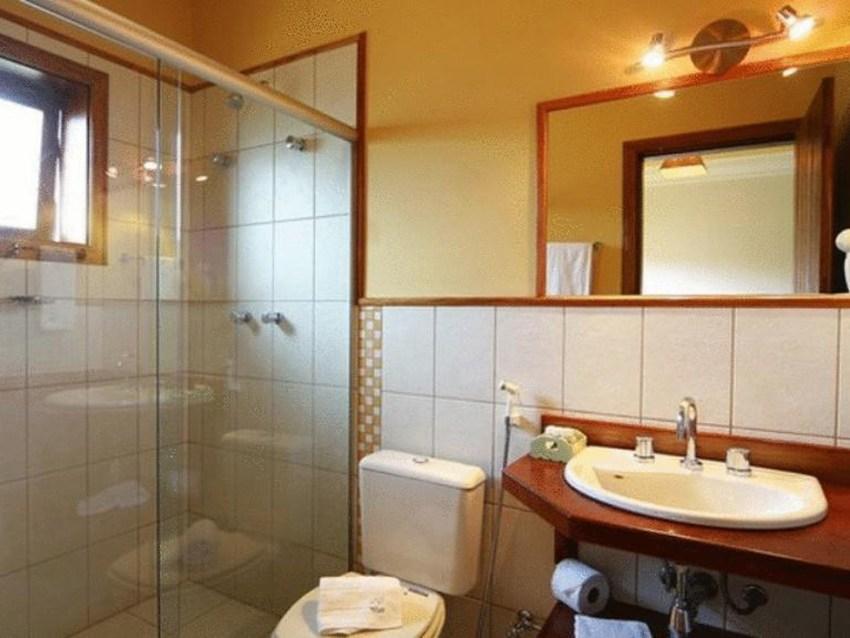 Banheiro Pousada Santha Serra