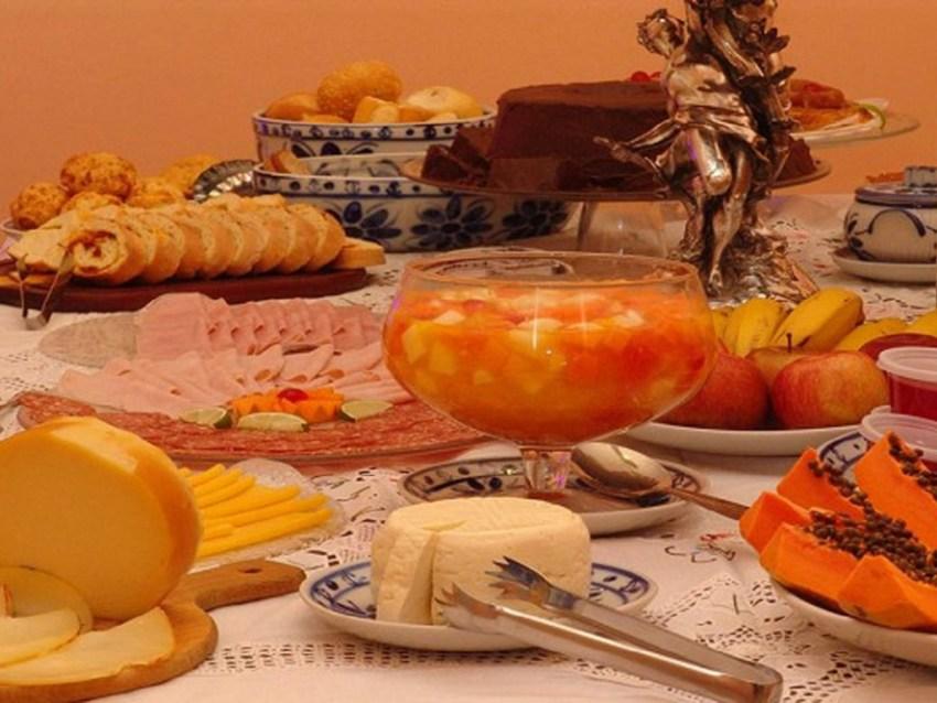 Café da manhã Pousada Villa Capivary