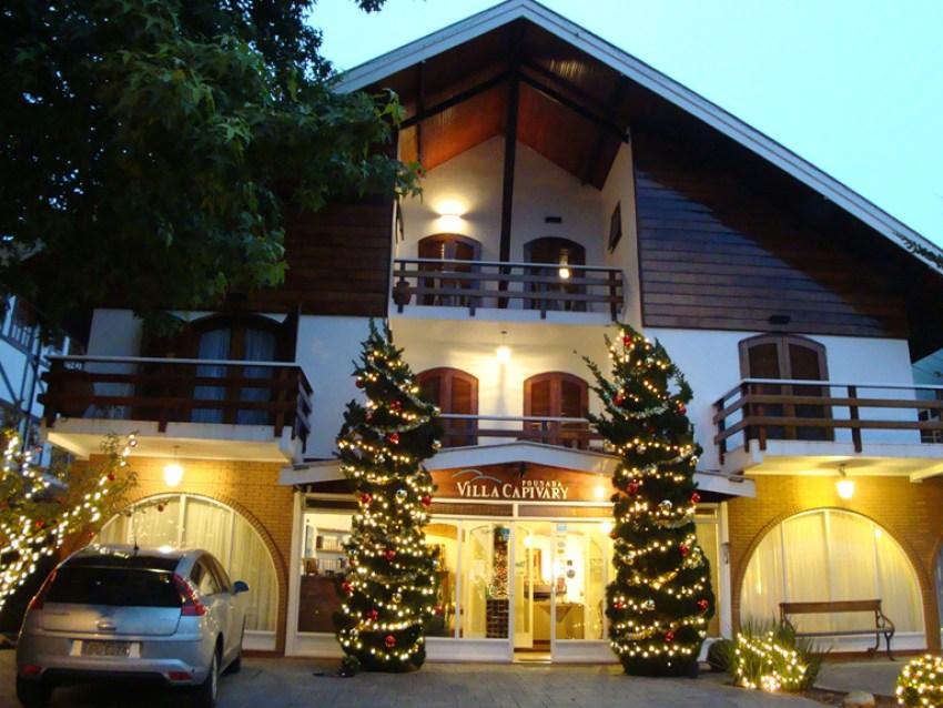Fachada Pousada Villa Capivary