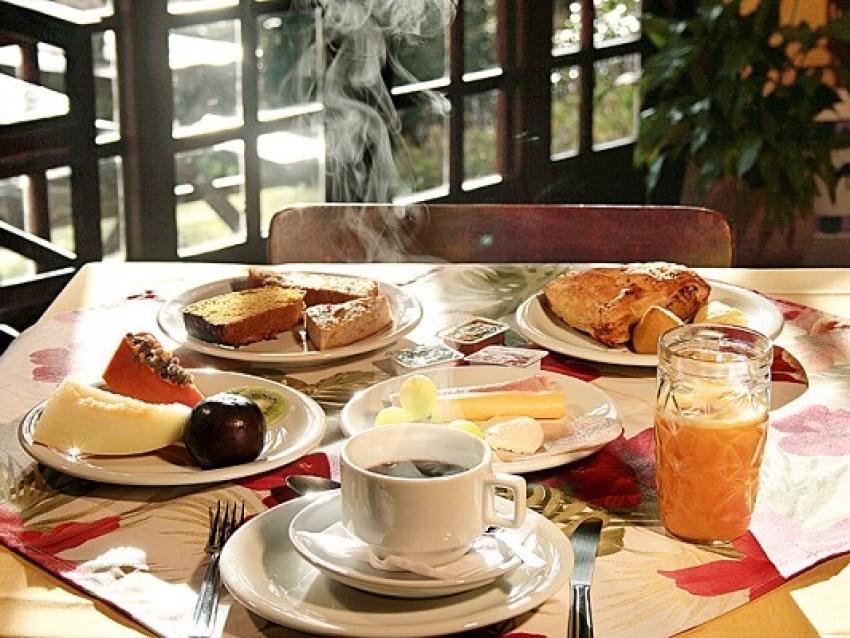 Café da Manhã Pousada Recanto das Araucárias