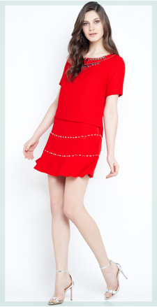 Lookbook Lady in Red