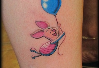 Piglet Tattoo Designs