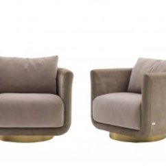 Leather Bergere Chair And Ottoman Grosfillex Bahia Chaise Lounge Fendi Armchair | Casa Australia