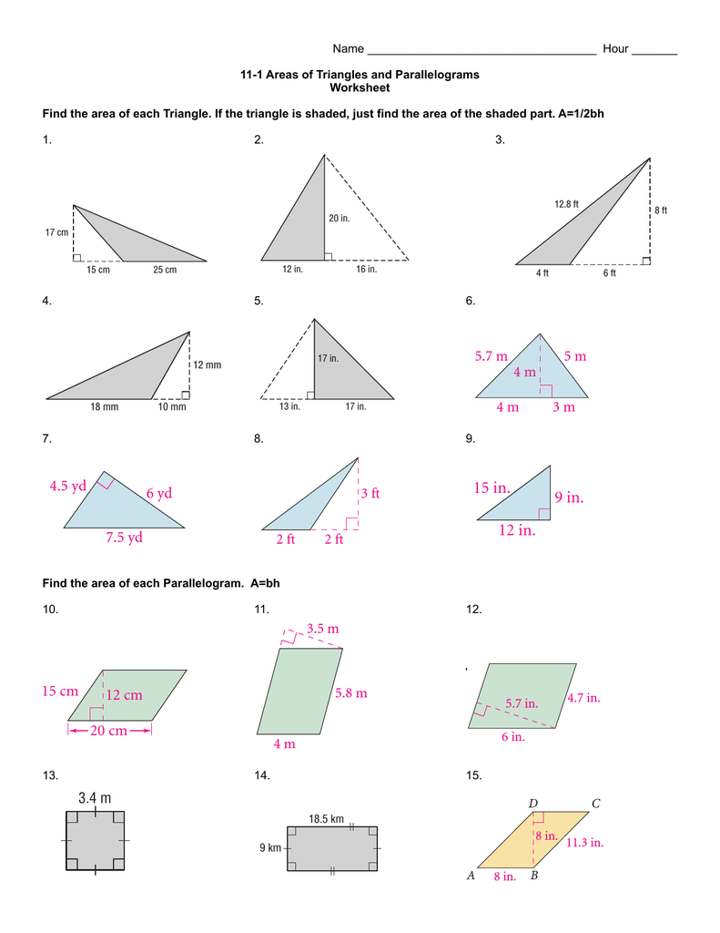hight resolution of 11-1 Worksheet updated 2014