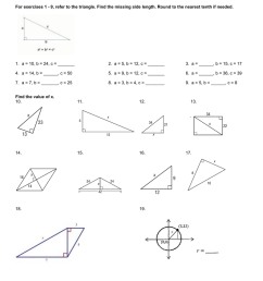 8-2 Pythagorean Theorem Worksheet day 2 [ 1024 x 791 Pixel ]