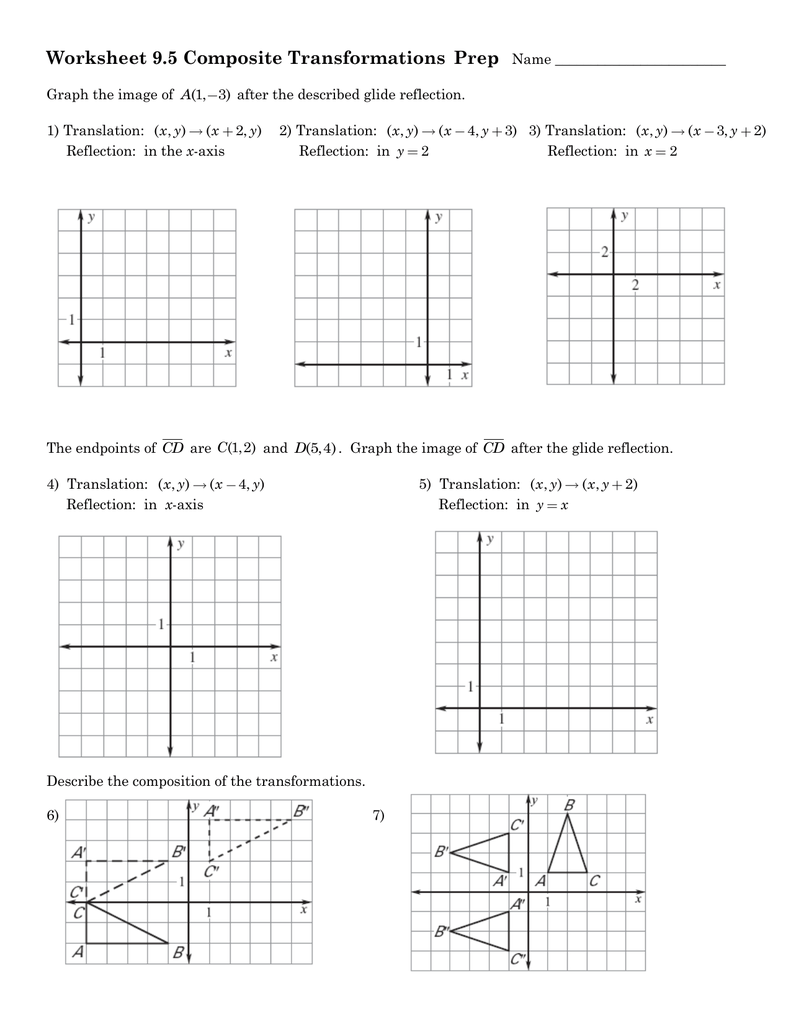 worksheet Sequence Of Transformations Worksheet worksheet rigid transformations thedanks for dilation transformation worksheets all download and share free on bonlacfoods com