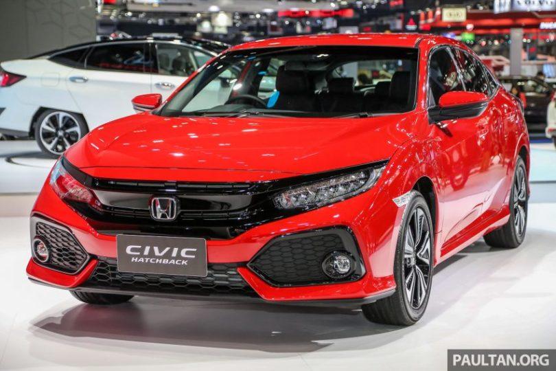 图集:红色 Honda Civic Hatchback / Sedan 曼谷亮相 Image #63682