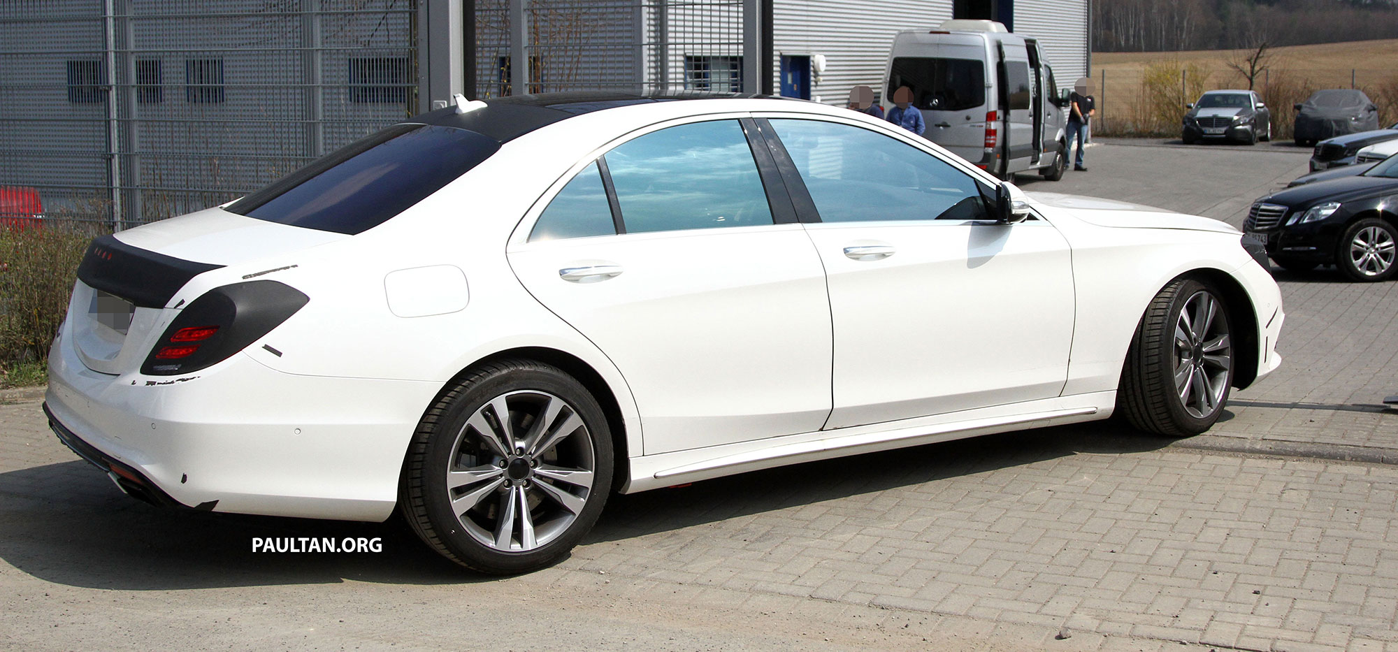 W222 Merc S Class Sighted Again This Time In White Paul