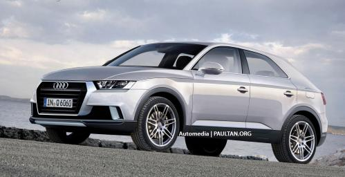 small resolution of audi q6 could surface in 2016 to rival bmw x6 image 173265