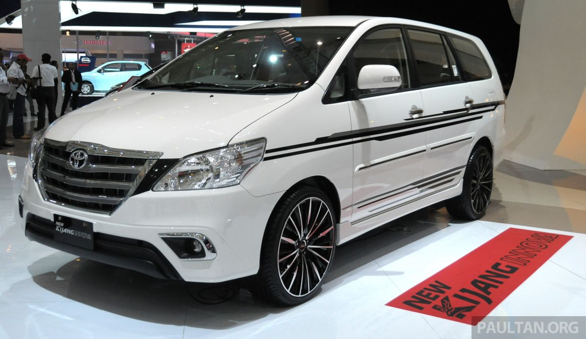 all new kijang innova 2013 grand avanza 1.5 g m/t gallery toyota facelift on show at iims