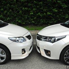 All New Corolla Altis 2018 Grand Avanza Veloz 2016 Gallery Old And Toyota Compared Paul