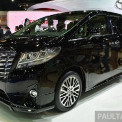 Toyota All New Alphard 2015 Jual Velg Yaris Trd Vellfire Launched In Thailand Live Pics