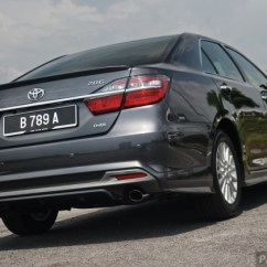 All New Camry Singapore Agya 1.2 Ga T Trd Driven 2015 Toyota Facelift Previewed Sony Dsc