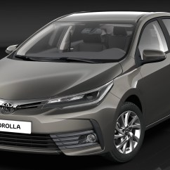 All New Corolla Altis 2020 Camry 2019 Toyota Facelift Revealed 2017 Debut