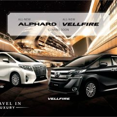All New Vellfire 2015 Interior Toyota Yaris Trd Body Kit 2016 2 5 Alphard 3 And Executive Lounge Confirmed For Malaysia Full Specs
