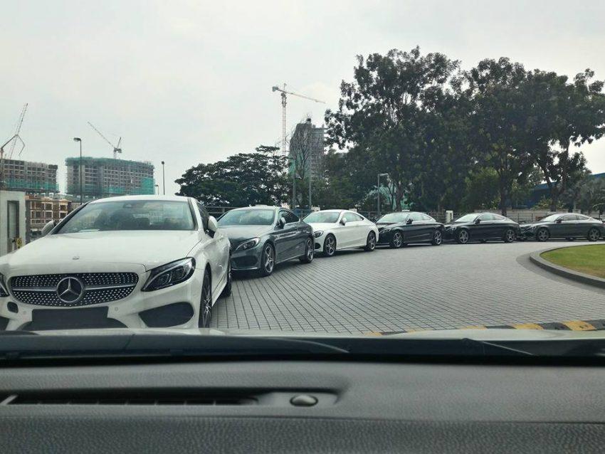 C205 Mercedes Benz C Class Coupe Seen In Malaysia Paul Tan