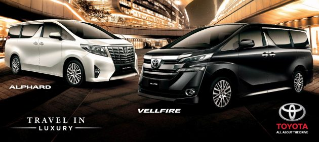 all new alphard vs vellfire harga type x 2016 toyota and prices revealed rm420k rm520k for 006 fortuner ot leaflet r4