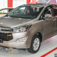 Harga All New Kijang Innova 2017 Spesifikasi Venturer Toyota Launched In Malaysia From Rm106k 7 Airbags Esc Dual Vvt I More Premium Interior