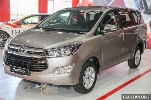 foto all new kijang innova agya 1.2 g at trd toyota launched in malaysia from rm106k 7 airbags esc dual vvt i more premium interior