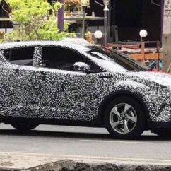 All New Camry Headlightmag 2.5 L A/t Hybrid Toyota C Hr Spotted In Thailand Early 2018 Launch