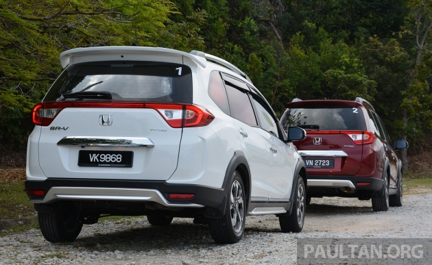 grand new veloz vs brv toyota yaris trd 2014 harga driven honda br v 1 5l review seven seats family first the is plenty of car for money rm85 800 to rm92 at 4 456 mm long and 735 wide it s 162 longer than hr but 37 narrower
