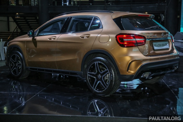 X156 Mercedes Benz GLA Facelift Launched In Malaysia