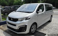 Peugeot Traveller spotted ahead of M'sia Q3 launch