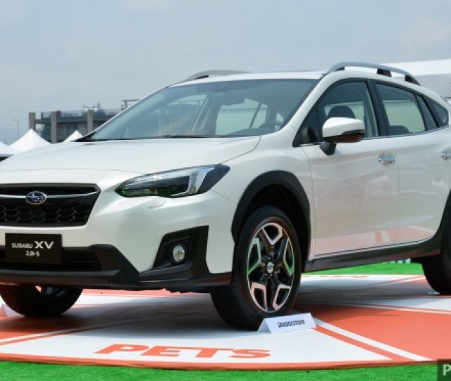 The All New Subaru Xv Has Made Its Regional Launch Debut In Taiwan Just A Few Months After The Suv Was First Revealed At This Years Geneva Motor Show