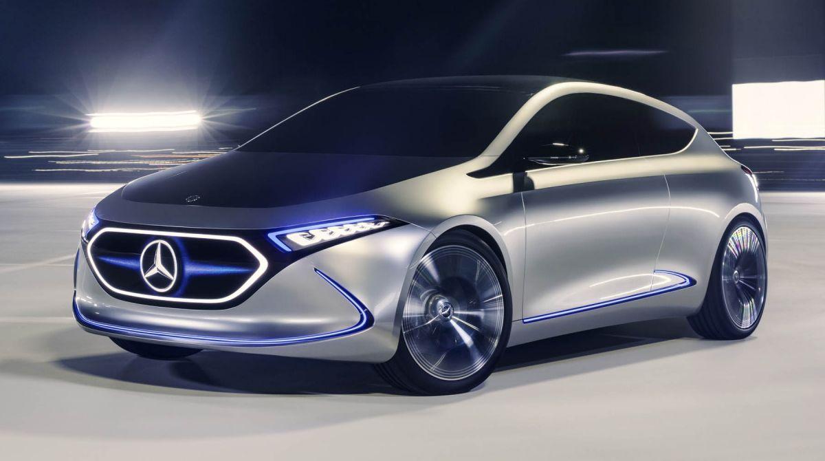 Mercedes Benz Concept EQ A Revealed In Frankfurt Paul Tan