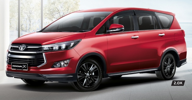 tipe dan harga all new kijang innova vellfire 2017 toyota 2 0x gets captain seats led headlights 7 airbags standard across updated range fr rm108k