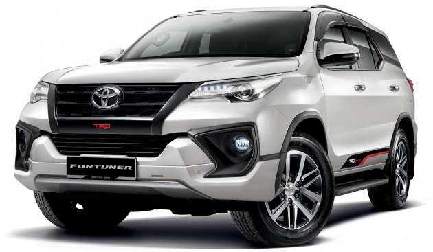 toyota yaris trd sportivo 2018 price grand new avanza e 2017 fortuner updated now on sale 2 4 vrz 4x2 and 4x4 from last month umw revealed the which comes with two additional high spec diesel variants a couple of detail changes