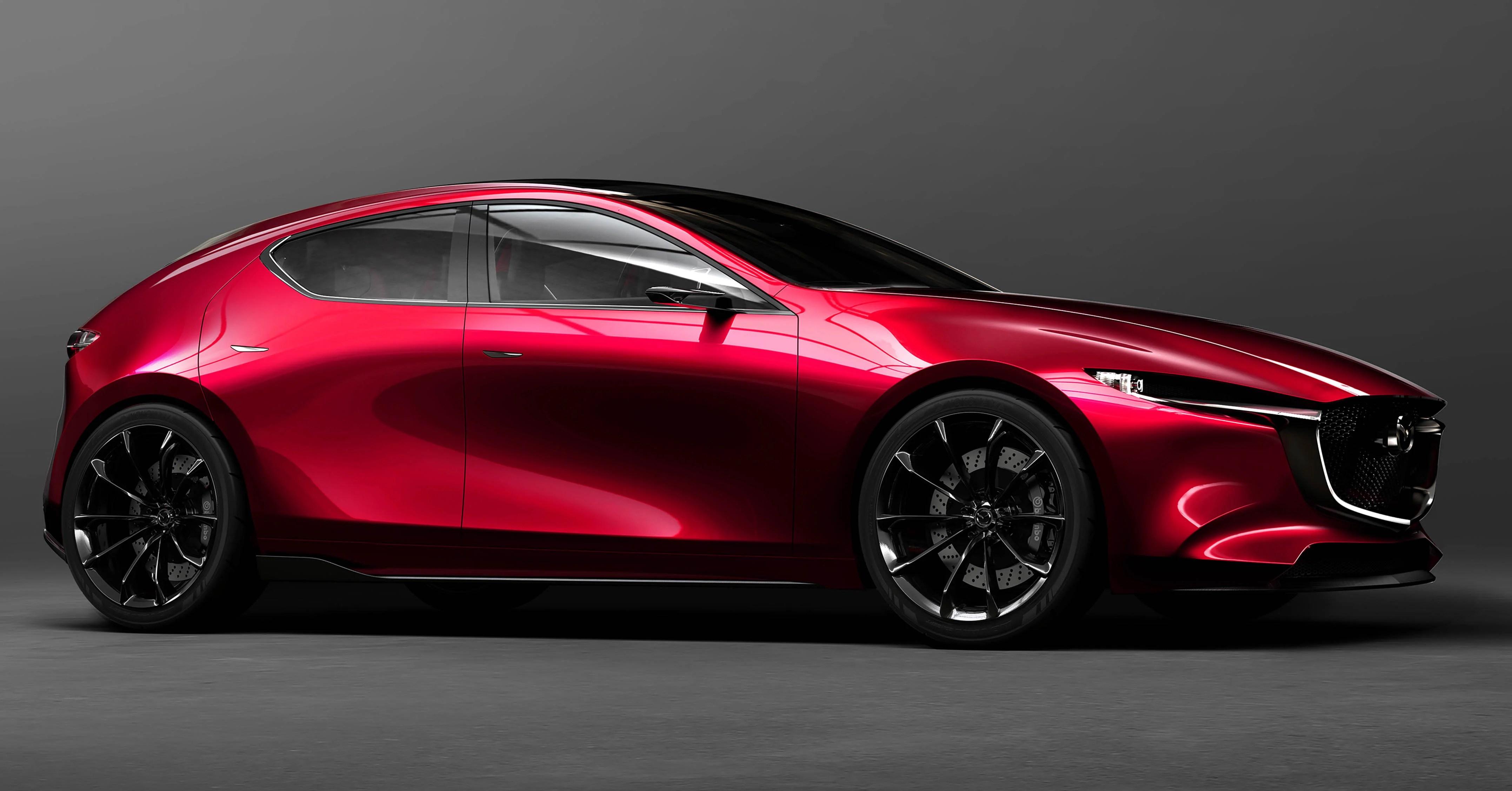 Tokyo 2017 Mazda Kai Concept Mazda 3 Berikutnya Paul