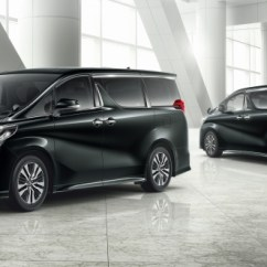 All New Alphard 2018 Redesign Toyota Yaris 2017 Trd Parts Vellfire Facelift 3 5 Direct Injected V6 8at Standard Second Gen Safety Sense