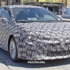All New Corolla Altis 2019 Oli Toyota Grand Avanza Spied Sedan Drops Some Camo