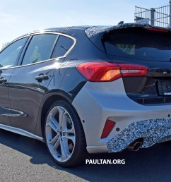ford focus s spied 2019 ford focus st 275 hp from 1 5 [ 2359 x 1327 Pixel ]