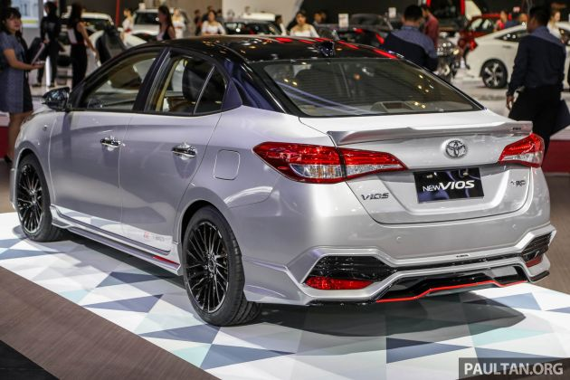 toyota yaris trd sportivo 2018 indonesia oli untuk grand new veloz giias vios prototype whets appetite side skirts a boot lid spoiler and rear bodykit are the rest of changes latter includes vents above foglamps diffuser style centre