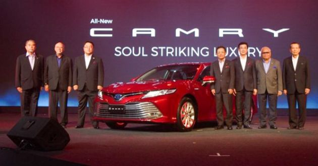 all new camry 2018 thailand tipe dan harga kijang innova toyota launched in auto breaking news