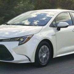 All New Vellfire 2020 Spesifikasi Oli Grand Avanza Toyota Corolla Hybrid Debuts At La Auto Show
