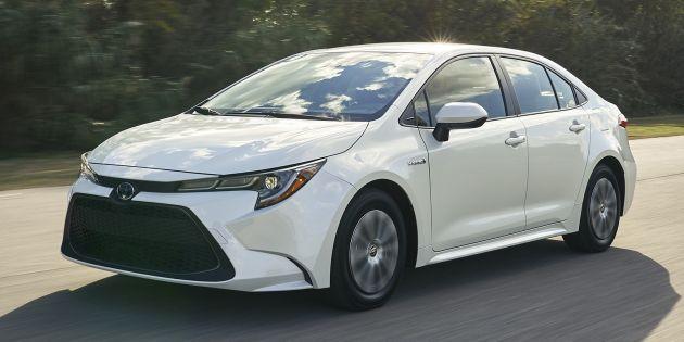 all new vellfire 2020 harga grand avanza di pontianak toyota corolla hybrid debuts at la auto show