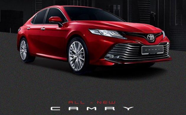 all new camry 2019 malaysia radiator grand avanza toyota 2 5v public debut at klims 2018 the will be heading to kuala lumpur international motor show next week as revealed through a instagram